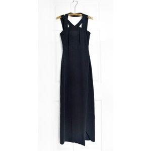 & Other Stories 100% Silk Halter Neck Dress